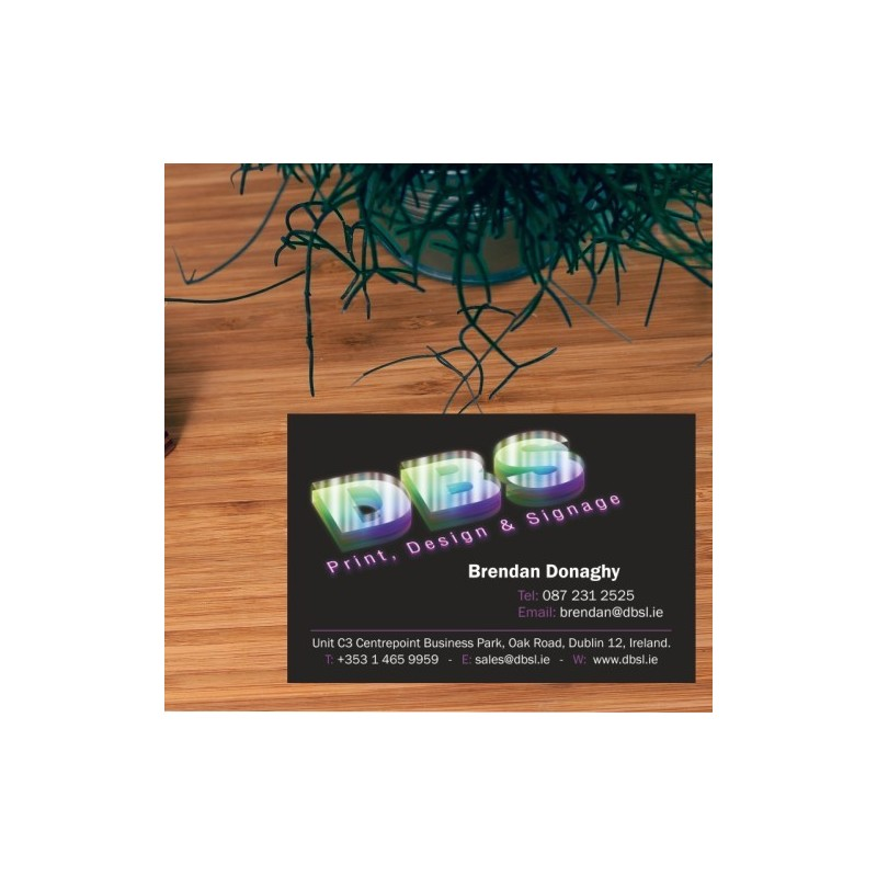 Business cards single and double sided fast turnaround times and business cards reheart Gallery