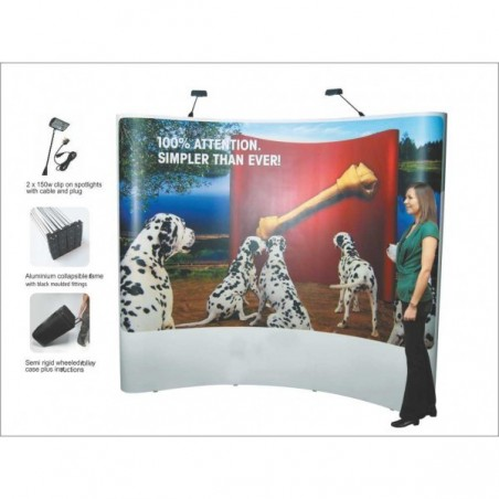 Display Stand, Exhibition Stand, Pop Up Stand
