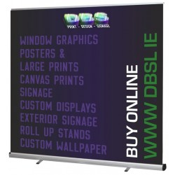 2000mm Wide Roll Up Banner