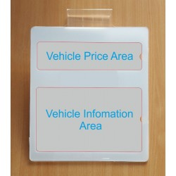 Acrylic Vehicle Price Units