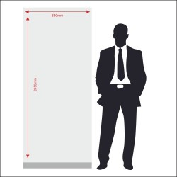 Roll Up Banner Dimensions