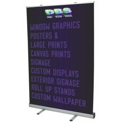 1500mm Wide Roll Up Banner