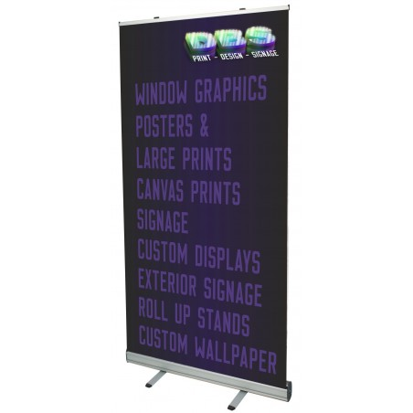 1200mm Wide Roll Up Banner
