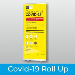 Covid Roll Up Banner