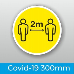 Covid Floor Stickers