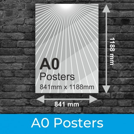A0 Posters and Photo Printing