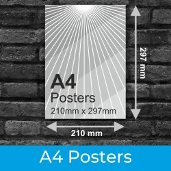 A4 Posters and Photo Printing