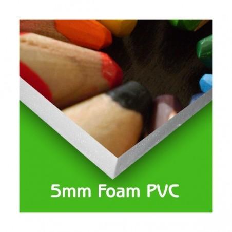 Foam PVC / Foamex Printed