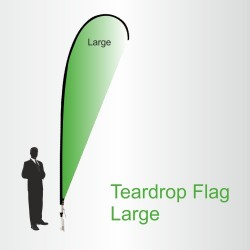 Teardrop Flags Large 4.5m