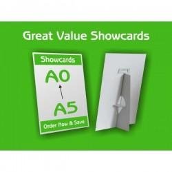 A4 Show Cards