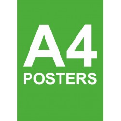 A4 Posters
