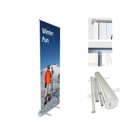 Roll Up Banners and Pop Up Display Stands From €59