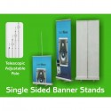 Roll Up Banner Stands - Adjustable Height