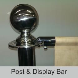 Cafe Barrier Pole